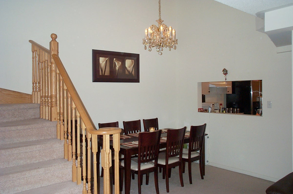 Dining Room And The Open Pass Through Between The Kitchen And Dinin Pictures